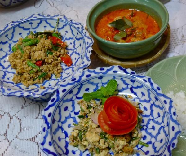 タイ料理 料理教室 バンコク