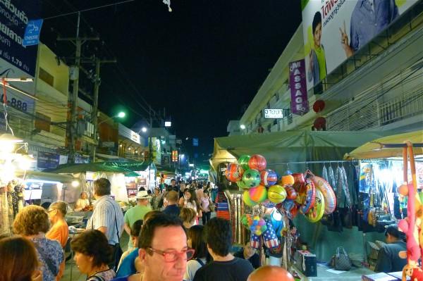 night market hua hin ホアヒン