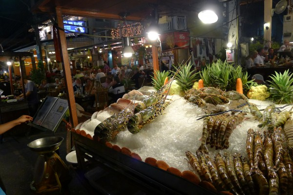 night market hua hin ホアヒン