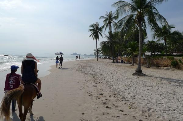 hua hin beach ホアヒン